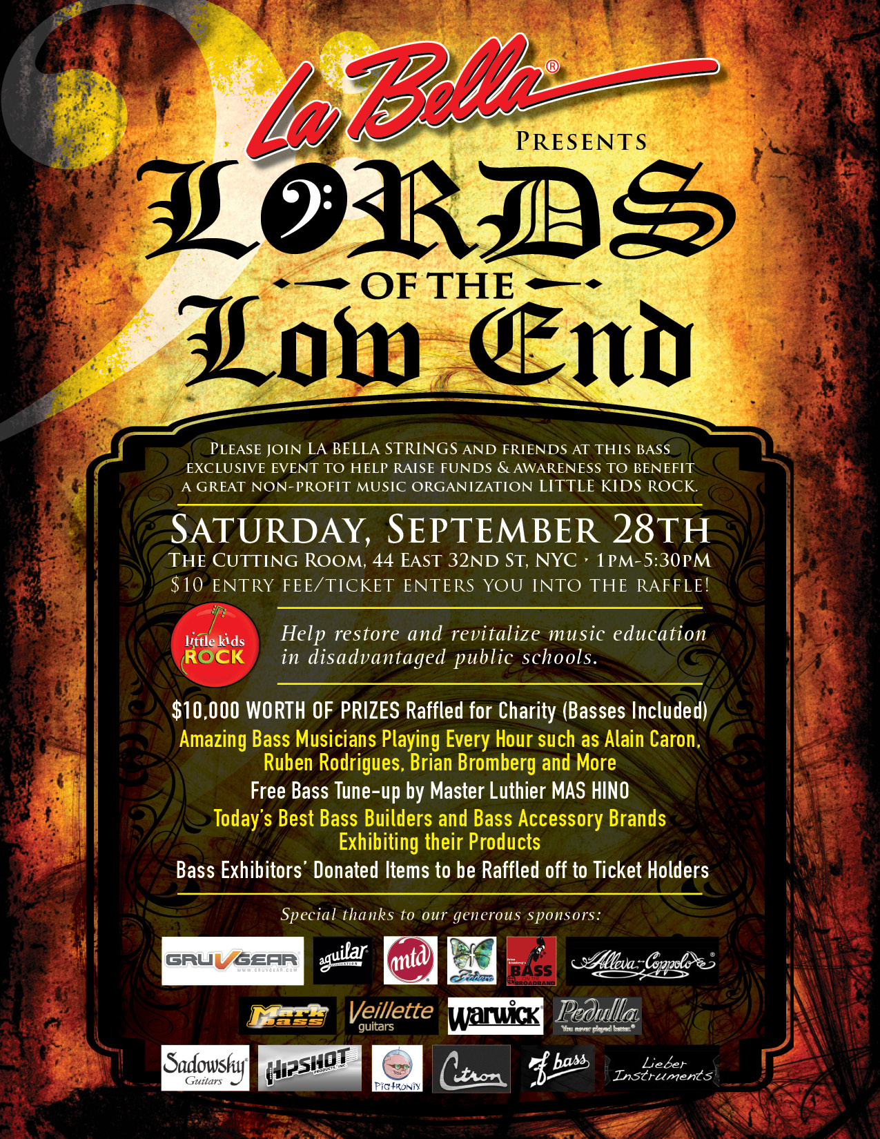 Lords Of The Low End Poster
