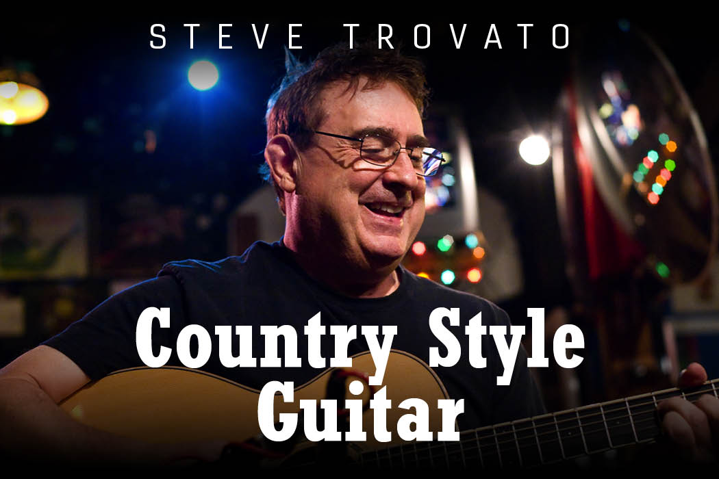 Steve Trovato - Country Style Guitar